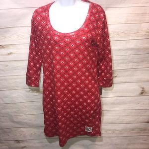 NEW! Lucky Brand Dress Red Print-Size M